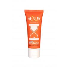 Пролонгирующая гель-смазка для мужчин Silk Touch Prolong - 50 мл.
