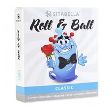 стимулирующий презерватив-насадка Roll   Ball Classic