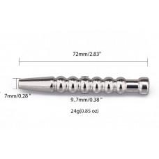 Уретральный металлический стимулятор - 7,2 см.
