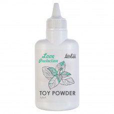 Пудра для игрушек Love Protection с ароматом мяты - 30 гр.