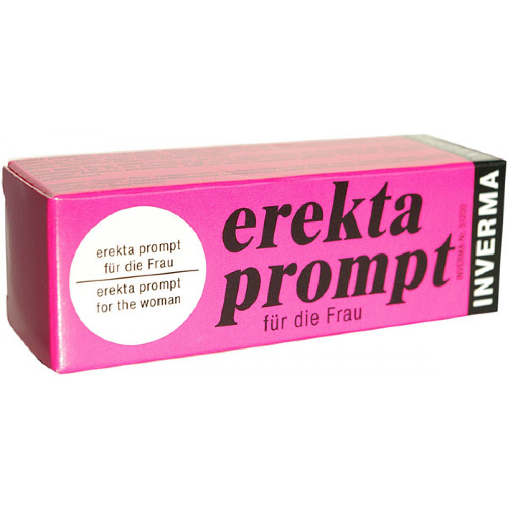 Возбуждающий женский крем Erekta Prompt  - 13 мл.