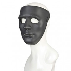 Черная пластиковая маска Инкогнито
