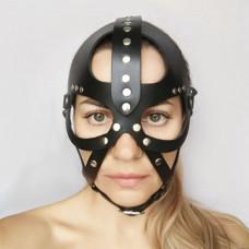 Кожаная маска-шлем  Лектор