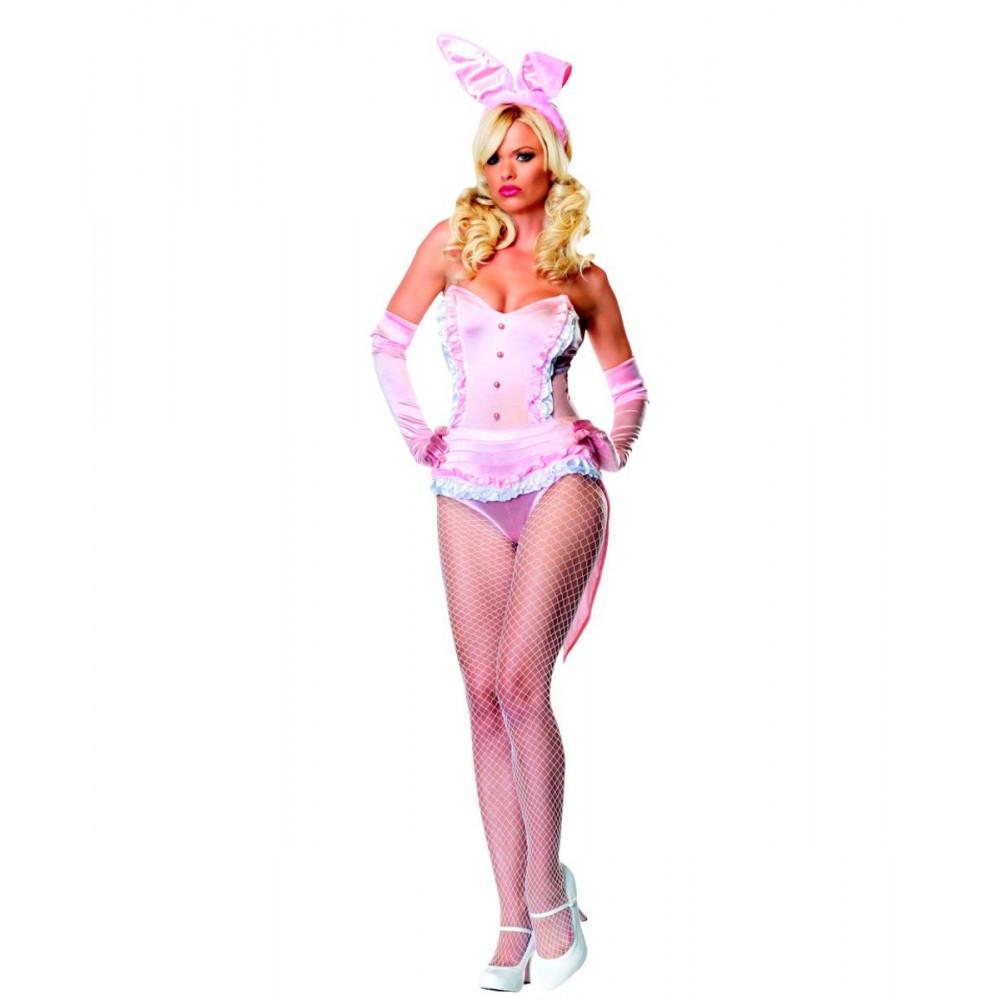 Костюм розового секси-кролика