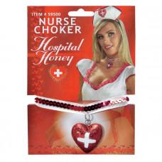 Кулон медсестры с блёстками