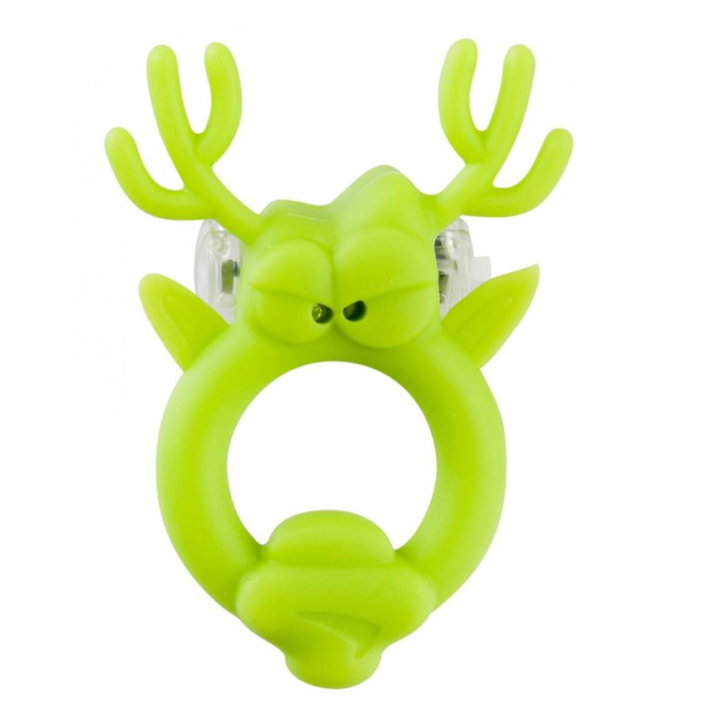 Вибронасадка Beasty Toys Rockin Reindeer в форме оленя (Shots Media BV SLI010)