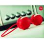 Красные вагинальные шарики Smartballs Duo