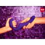 Безремневой фиолетовый страпон Share