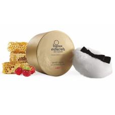 Съедобная пудра для тела с ароматом меда и клубники Sunset Wild Powder - 45 гр.