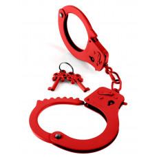 Металлические красные наручники Designer Metal Handcuffs