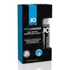 Спрей-пролонгатор JO Prolonger Spray для мужчин - 2 мл.