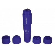 Фиолетовая виброракета FUNKY MASSAGER - 10 см.