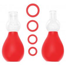 Красный набор для стимуляции груди