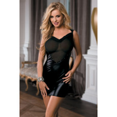 Эффектное платье с вставкой-сердечком и открытой спинкой