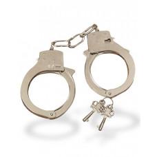 Металлические наручники с ключиками в комплекте