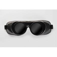 Чёрная латексная маска  Крюгер  с чёрными окошками