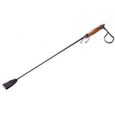 Стек с лакированной деревянной ручкой - 57 см