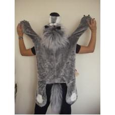 Шапочка-накидка  Серый Волк