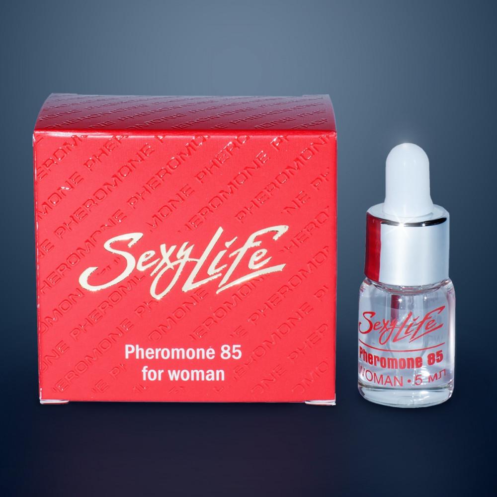 Концентрат феромонов Sexy Life для женщин (концентрация 85%) - 5 мл.