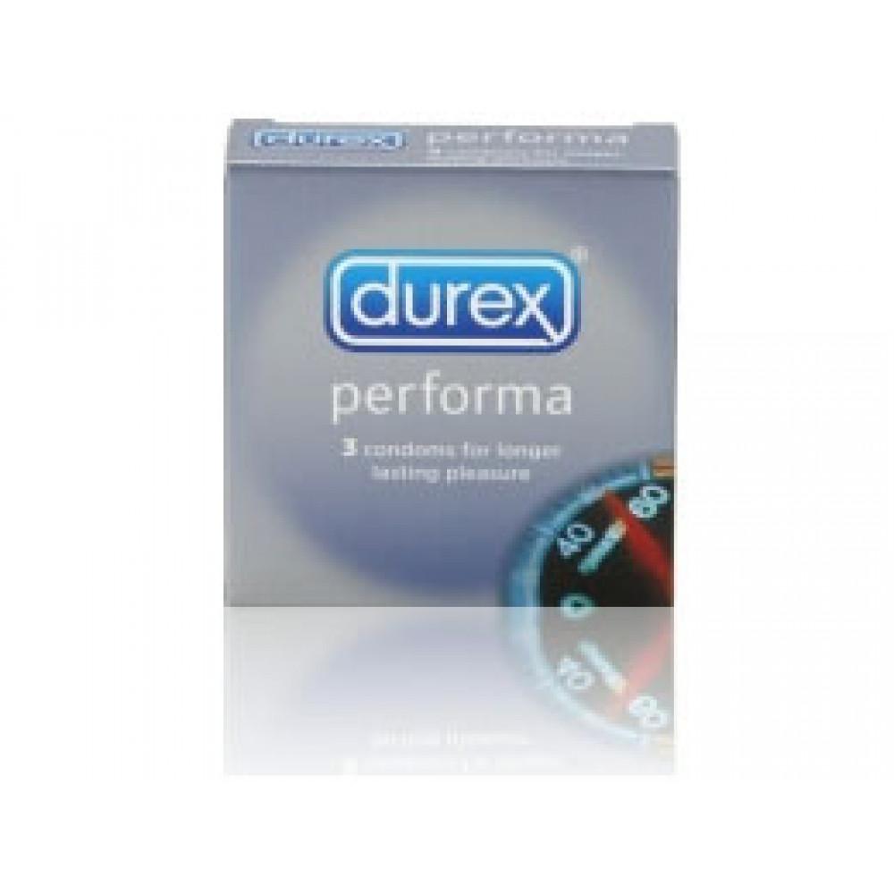 Презервативы для продления удовольствия Durex Long Play - 3 шт.