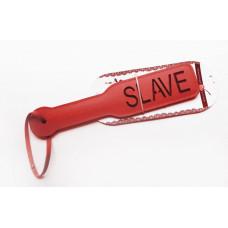 Красная шлёпалка Slave - 31,5 см.