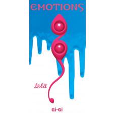 Розовые вагинальные шарики Emotions Gi-Gi