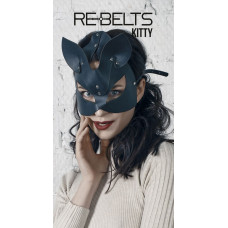 Маска с кошачьими ушками Kitty Black
