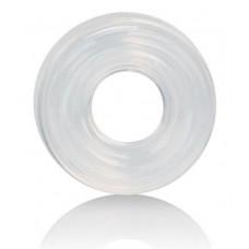 Прозрачное эрекционное кольцо Premium Silicone Ring Medium