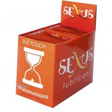 Набор из 50 пробников продлевающей гель-смазки на водной основе Silk Touch Prolong по 6 мл. каждый