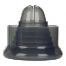 Универсальная насадка для помпы серая из силикона