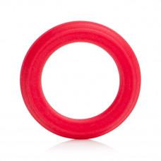 Красное эрекционное кольцо Caesar Silicone Ring