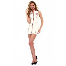 Платье медсестры с воротником-стойкой Datex Nurse Dress