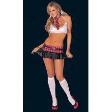 Эротический костюм «Школьница»