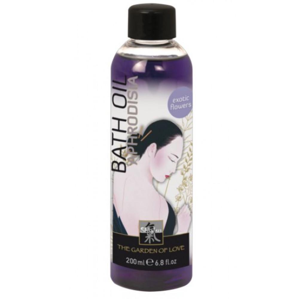 Масло для ванны  Афродизия  с запахом экзотических цветов - 200 мл. (Shiatsu 66031)