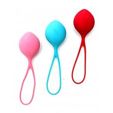 Набор из трёх вагинальных шариков Satisfyer Balls