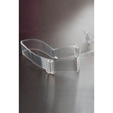 Силиконовые бретели с пластиковым крючком шириной 12 мм - 2 шт.