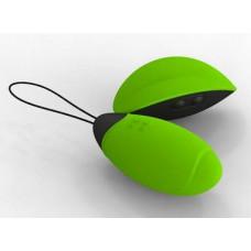 Зеленое виброяйцо Lilian с пультом ДУ